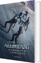 divergent 3: allegiant - film udgave - bog