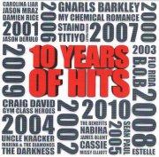10 years of hits - cd