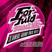 for fuld musik - 28 danske grand prix hits - cd