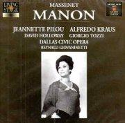 massenet: manon [uk-import] [import] [dobbelt-cd] - cd