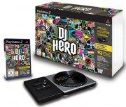 dj hero with turntable kit - PS2