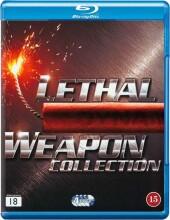 dødbringende våben 1-4 - boks - Blu-Ray