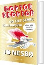 doktor proktor og det store guldrøveri - bog