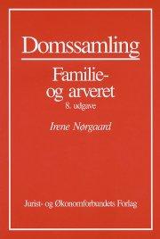 domssamling familie-arveret - bog