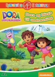 dora udforskeren - dora og diego til undsætning - DVD