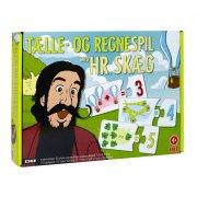 hr. skæg spil - tælle- og regnespil - lær matematik med hr skæg - Brætspil