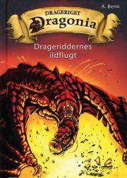 drageriddernes ildflugt - bog
