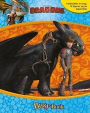 dragons - busy book - bog