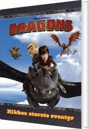 dragons - hikkes største eventyr - bog