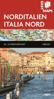 easy maps - norditalien - bog