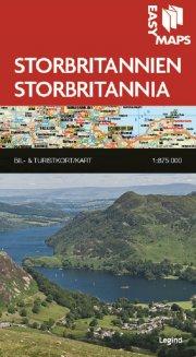 easy maps - storbritannien - bog