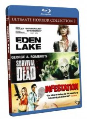 eden / survival of the dead / infestation - Blu-Ray
