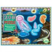 puslespil til børn - eeboo - havet - 208 brikker - Brætspil