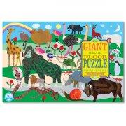 eeboo - giant puslespil - dyr - Brætspil