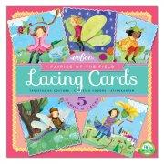 eeboo - lacing cards, fairies - Kreativitet