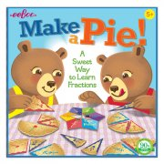 eeboo - make a pie game - lær brøker - Brætspil