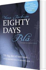 eighty days - blå - bog