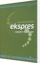 ekspres, opgaver og tekster - bog