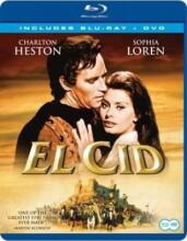 el cid  - Blu-Ray + Dvd