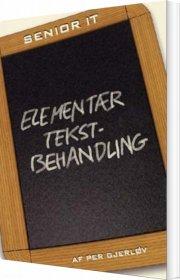 elementær tekstbehandling - bog