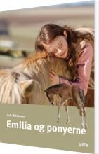 emilia og ponyerne - bog