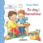 en dag i børnehave - bog