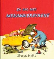 en dag med mekanikerdyrene - bog