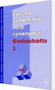 engelsk grammatik med synonymer - bog