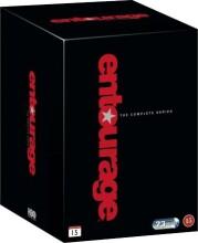 entourage box - den komplette serie - DVD