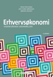 erhvervsøkonomi - videregående uddannelser - bog
