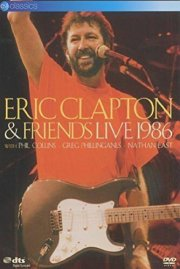 eric clapton and friends - live 1986 - DVD