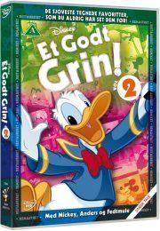 et godt grin vol. 2 - disney - DVD