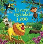 et værre spektakel i zoo m/lyd - bog