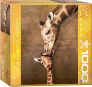 puslespil - eurographics - giraffer - 1000 brikker - Brætspil