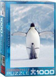puslespil - eurographics - pingvin - 1000 brikker - Brætspil