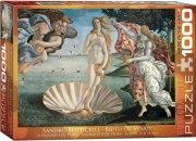 puslespil - eurographics - botticelli birth of venus - 1000 brikker - Brætspil