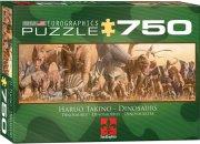 puslespil med dinosaur - eurographics - 750 brikker - Brætspil
