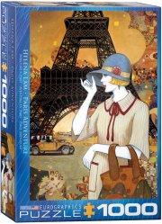 eurographics puslespil med 1000 brikker - helena lam - paris adventure - Brætspil