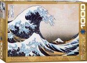 puslespil med 1000 brikker - hokusai the great wave at kanagawa - eurographics - Brætspil