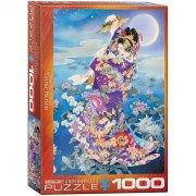 eurographics puslespil 1000 brikker - haruyo morita: tsuki hoshi - Brætspil
