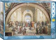 eurographics puslespil 1000 brikker - raphael - skolen i athen - Brætspil