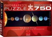 eurographics puslespil 750 brikker - solsystemet - Brætspil
