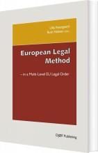 european legal method - in the multi-level eu legal order - bog