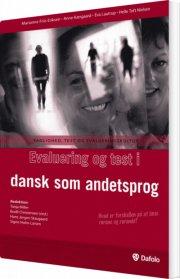 evaluering og test i dansk som andetsprog - bog