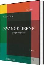 evangelierne synoptisk opstillet - bog