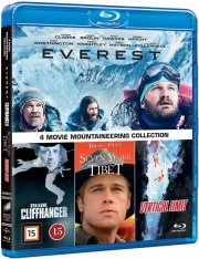 everest / cliffhanger / seven years in tibet / vertical limit - Blu-Ray