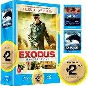 brændt af solen 2: exodus / catfish / d-war - Blu-Ray