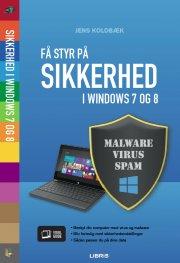 få styr på sikkerhed i windows 7 og 8 - bog