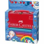 faber-castell - gaveæske med jumbo grip farveblyanter med pensel - Kreativitet