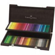 faber-castell - polychromos - 120 farveblyanter i trækasse (110013) - Kreativitet
